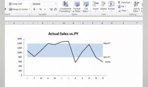 excel charts: dynamic series label positioning