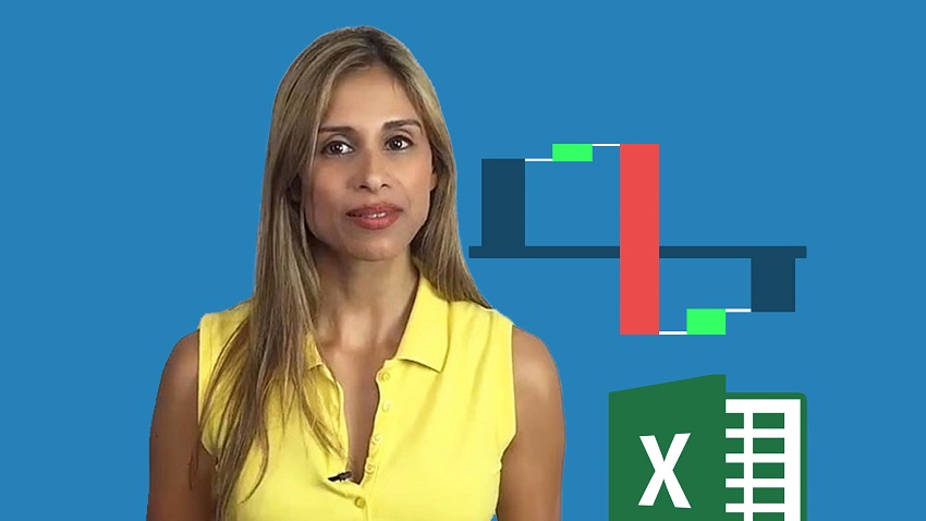 Online Complete Excel Waterfall chart or bridge chart course
