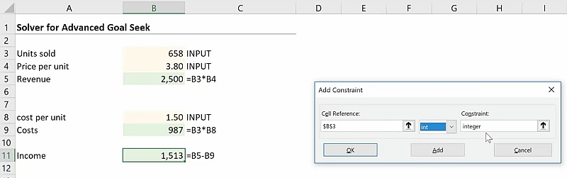 Excel Solver Simply Explained