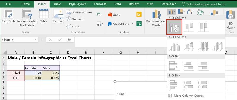 Creative Infographics in Excel - Xelplus - Leila Gharani