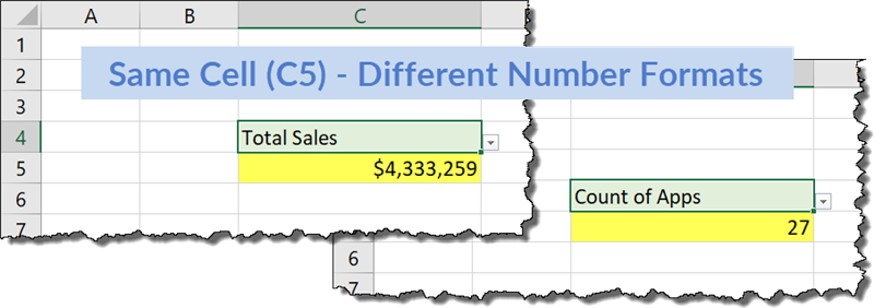 Change the Number Format of a Cell Based on a Condition in