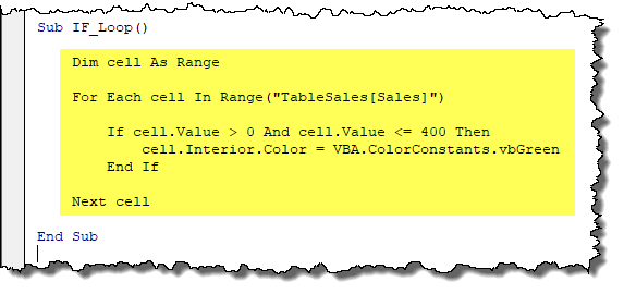 Excel VBA IF THEN Statement (and a useful tip) - Xelplus