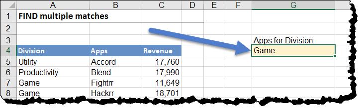 Return Multiple Match Values in Excel - Xelplus - Leila Gharani