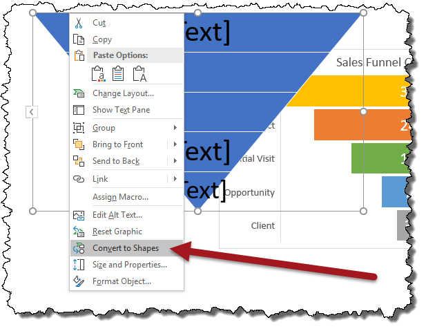 How to Create a Sales Funnel Chart in Excel (Not the