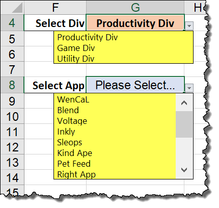 Reset Dependent Drop-down in Excel - Xelplus - Leila Gharani