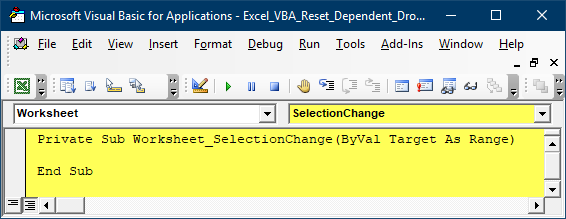 Reset Dependent Drop-down in Excel - Xelplus - Leila Gharani