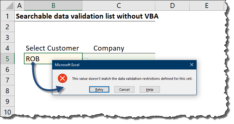 Excel Filter Based On Cell Value Without Vba