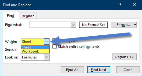 Excel's Find and Replace (surprising features) - Xelplus