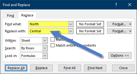 Excel's Find and Replace (surprising features) - Xelplus - Leila Gharani