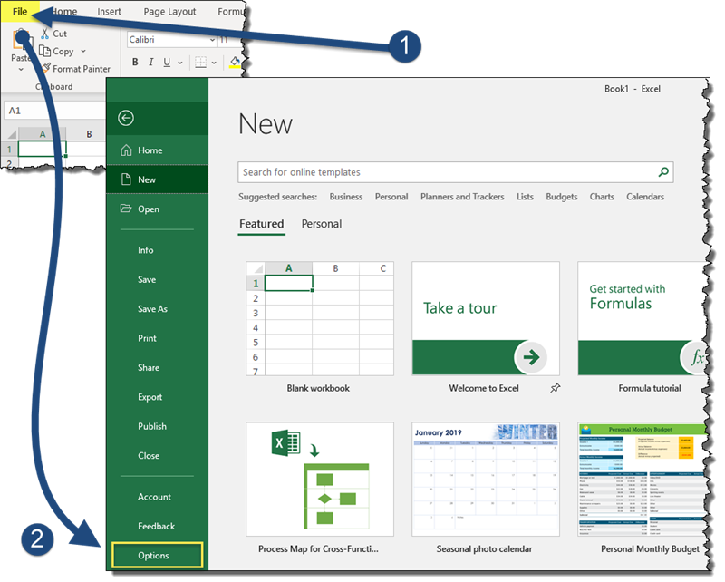 Better Excel Presentations: Increase Font Size of Formula