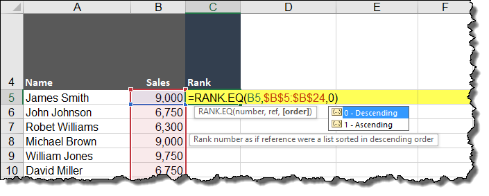 Excel RANK without Skipping Numbers (Top 3 Report with