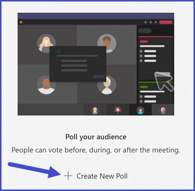 Microsoft Teams - Create Poll